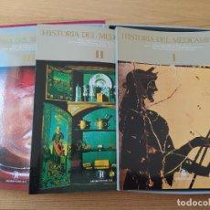 Libros de segunda mano: HISTORIA DEL MEDICAMENTO, OBRA COMPLETA, DIEGO GARCIA GUILLEN, ED. ANTIBIOTICOS, S.A., MADRID, 1984.. Lote 241235230