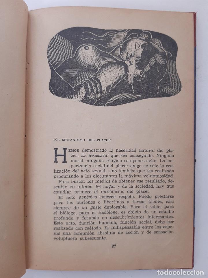 Libros de segunda mano: EL PLACER RECIPROCO ANTOLOGIA DE LA FELICIDAD CONYUGAL Dr SMOLENSKI - Foto 10 - 241714425