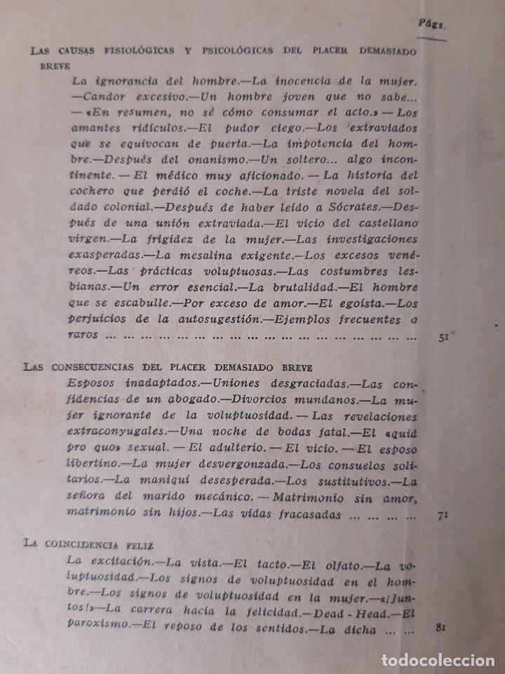 Libros de segunda mano: EL PLACER RECIPROCO ANTOLOGIA DE LA FELICIDAD CONYUGAL Dr SMOLENSKI - Foto 15 - 241714425