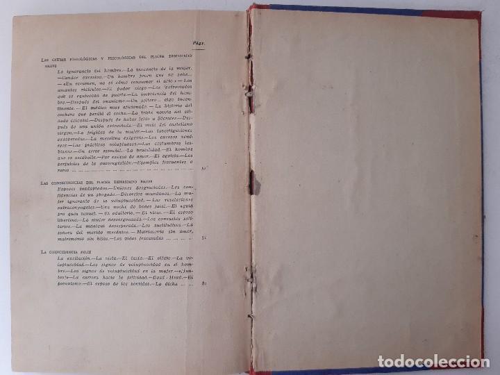 Libros de segunda mano: EL PLACER RECIPROCO ANTOLOGIA DE LA FELICIDAD CONYUGAL Dr SMOLENSKI - Foto 16 - 241714425