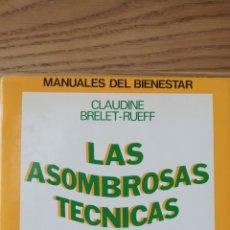 Libros de segunda mano: LAS ASOMBROSAS TECNICAS CHINAS. CLAUDINE BRELET-RUEFF. EDICIONES MENSAJERO 1980. Lote 241952370