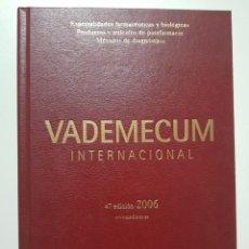 Libros de segunda mano: VADEMECUM INTERNACIONAL. MEDICOM. 2006. PERSONALIZADO PARA MEDICO. VER FOTOS. Lote 243919645