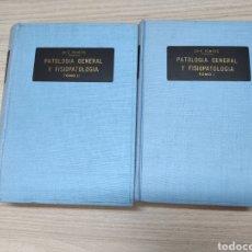 Libros de segunda mano: 2 TOMOS PATOLOGÍA GENERAL Y FISIOPATOLOGÍA. Lote 244531280