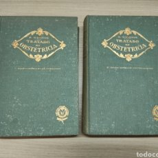 Libros de segunda mano: 2 TOMOS TRATADO DE OBSTETRICIA. MODESTO USO. 3ª EDICIÓN. 1946. Lote 244531810