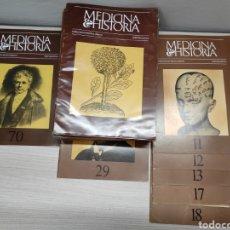 Libros de segunda mano: LOTE MEDICINA E HISTORIA. PUBLICACIÓN MÉDICA URIACH. TERCERA ÉPOCA.. Lote 244537025