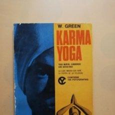 Libros de segunda mano: KARMA YOGA. YOGA MENTAL COMBINADO CON HATHA-YOGA. WALTER GREEN. EDITORIAL CAYMI. 1973.PAG.95. Lote 244607865