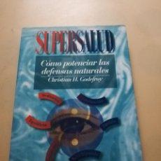 Libros de segunda mano: COMO POTENCIAR LAS DEFENSAS NATURALES. CHRISTIAN H. GODEFROY. EDAF. 1994. PAG.262.. Lote 244617125