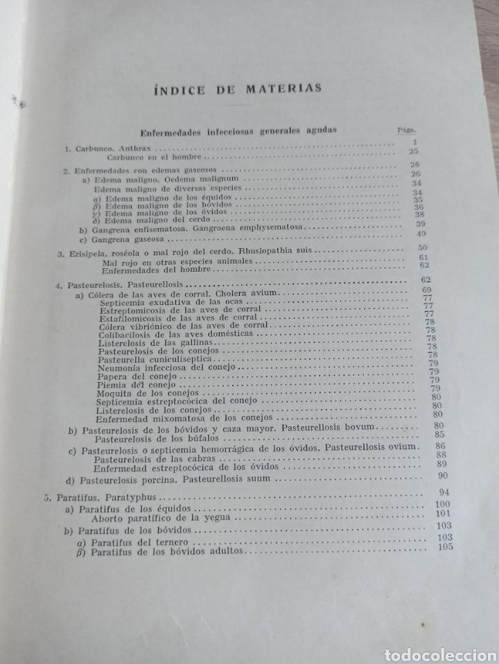 Libros de segunda mano: Patología y Terapéutica Especiales de los Animales Domesticos Tomo Primero Editorial Labor 1947 - Foto 5 - 244716700