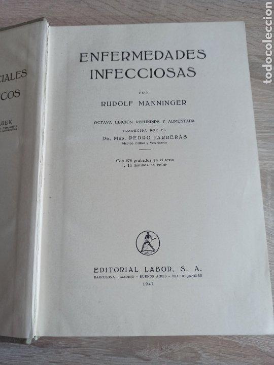 Libros de segunda mano: Patología y Terapéutica Especiales de los Animales Domesticos Tomo Primero Editorial Labor 1947 - Foto 3 - 244716700