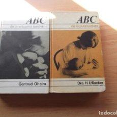 Libros de segunda mano: 2 LIBROS ABC DE LA ETIQUETA MODERNA Y DE LA PUERICULTURA.. Lote 244871830