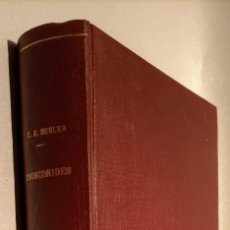 Libros de segunda mano: DIOSCORIDES - GLOSARIO MEDICO CASTELLANO SIGLO XVI - CESAR E. DUBLER /GREGORIO MARAÑON. Lote 244963385