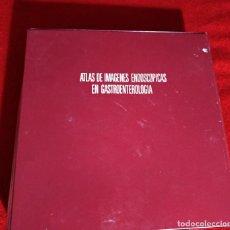 Libros de segunda mano: ATLAS DE IMAGENES ENDOSCOPICAS EN GASTROENTEROLOGIA,AÑO1979. Lote 245132820