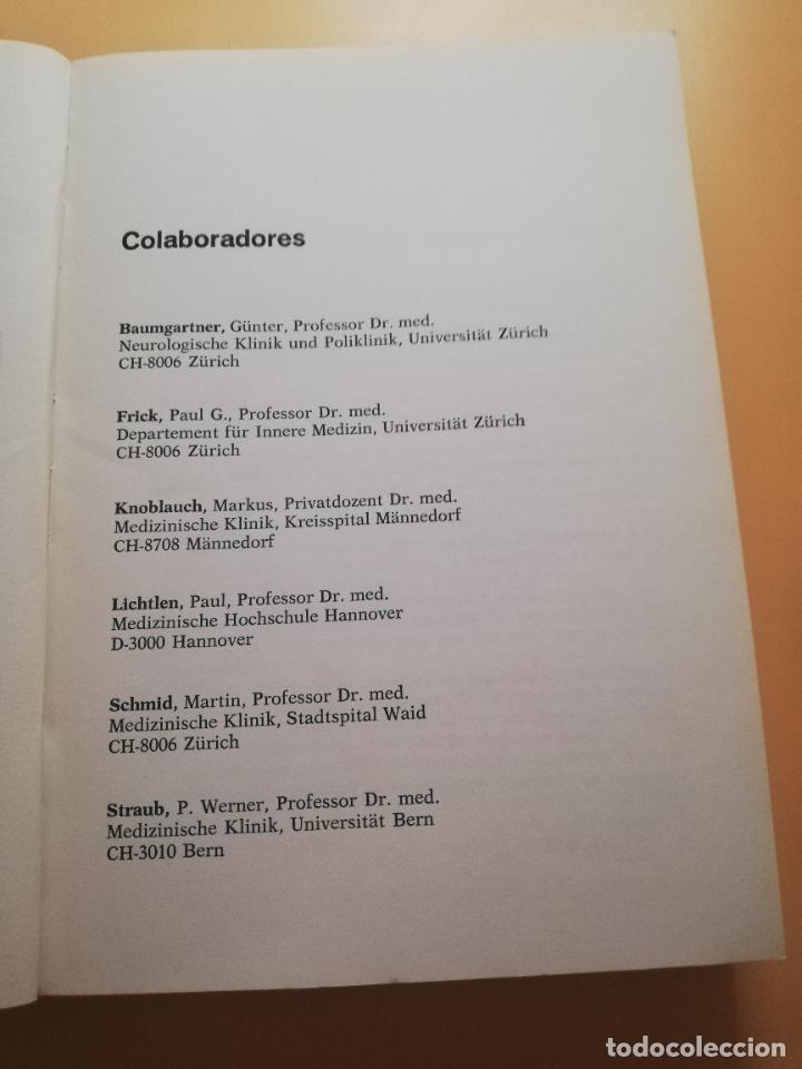 Libros de segunda mano: FISIOPATOLOGIA. A.A.BUHLMANN. E.R.FROESCH. EDITORIAL MEDICA Y TECNICA. 1981. PAG. 547. - Foto 4 - 245369670