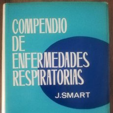 Libros de segunda mano: COMPENDIO DE ENFERMEDADES RESPIRATORIAS. Lote 246111150