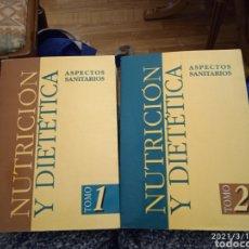 Libros de segunda mano: NUTRICIÓN Y DIETÉTICA TOMO 1 Y 2. Lote 247012660
