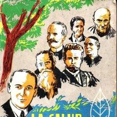 Libros de segunda mano: LEZAETA PEREZ COTAPOS : LA SALUD POR LA NATURALEZA (CHILE, 1968) NATURISMO. Lote 247554330