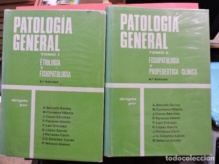PATOLOGÍA GENERAL TOMO I Y II. BALCELLS GORINA, A. CARMENA VILLARTA, M. 4ª ED. TORAY 1974 (Libros de Segunda Mano - Ciencias, Manuales y Oficios - Medicina, Farmacia y Salud)
