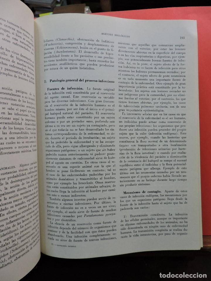 Libros de segunda mano: Patología General Tomo I y II. BALCELLS GORINA, A. CARMENA VILLARTA, M. 4ª Ed. Toray 1974 - Foto 3 - 253469085