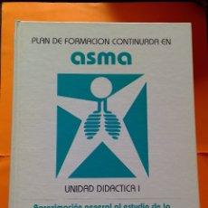 Libros de segunda mano: 1994 COLECCION 6 TOMOS PLAN DE FORMACION CONTINUADA EN ASMA. Lote 254033570