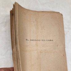 Libros de segunda mano: LOTE DE 66 FASCICULOS,EL MEDICO EN CASA!. Lote 254289495