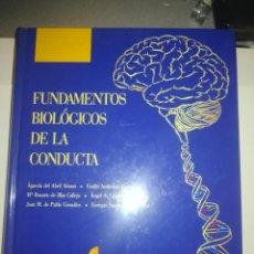 Libros de segunda mano: FUNDAMENTOS BIOLOGICOS DE LA CONDUCTA (SANZ Y TORRES) 1ª EDICION REVISADA. Lote 254929860