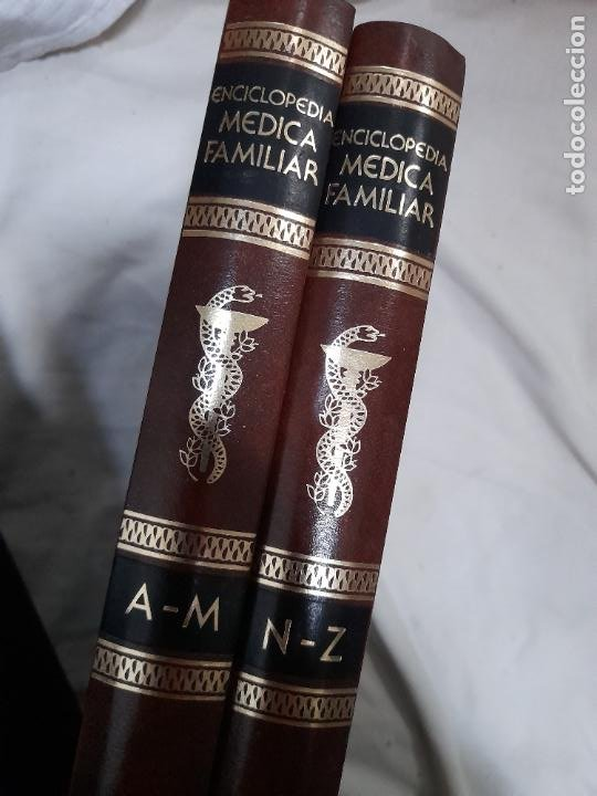 ENCICLOPEDIA MÉDICA FAMILIAR. TOMOS I Y II. ARGOS VERGARA, BARCELONA (Libros de Segunda Mano - Ciencias, Manuales y Oficios - Medicina, Farmacia y Salud)