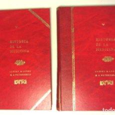 Libros de segunda mano: HISTORIA DE LA MEDICINA TOMOS I Y II ALBERT S. LYONS - R.J. PRETRUCELLI DOYMA. VER FOTOGRAFÍAS. Lote 176075108