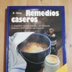 Libros de segunda mano: REMEDIOS CASEROS (MANNFRIED PAHLOW). Lote 255381845