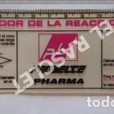 Libros de segunda mano: MEDIDOR DE LA REACCION CUTANEA - LABORATORIOS PHARMA. Lote 255427270