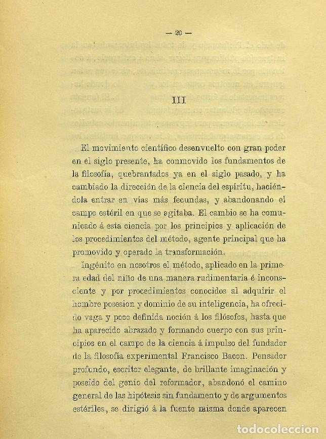 Libros de segunda mano: Discurso Universidad Central inauguración curso 1882 á 1883. Fausto Garagarza y Dugiols (Farmacia) - Foto 11 - 257732295