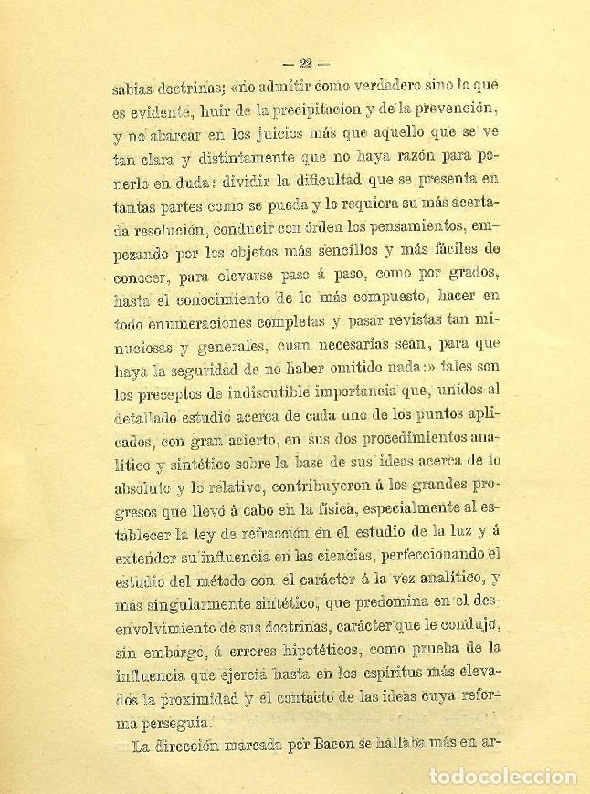 Libros de segunda mano: Discurso Universidad Central inauguración curso 1882 á 1883. Fausto Garagarza y Dugiols (Farmacia) - Foto 13 - 257732295