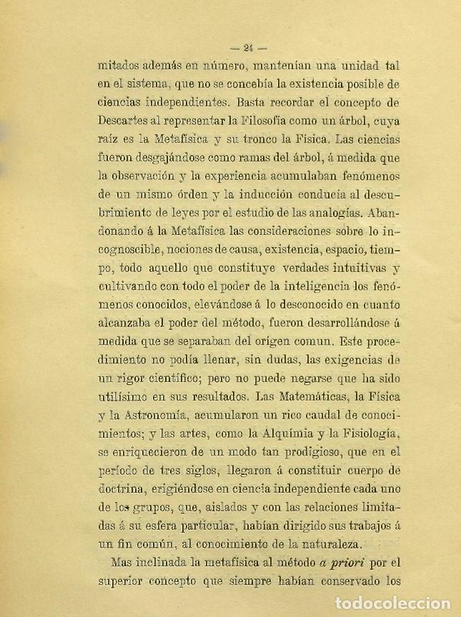 Libros de segunda mano: Discurso Universidad Central inauguración curso 1882 á 1883. Fausto Garagarza y Dugiols (Farmacia) - Foto 15 - 257732295