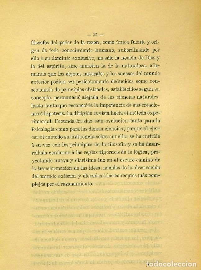 Libros de segunda mano: Discurso Universidad Central inauguración curso 1882 á 1883. Fausto Garagarza y Dugiols (Farmacia) - Foto 16 - 257732295