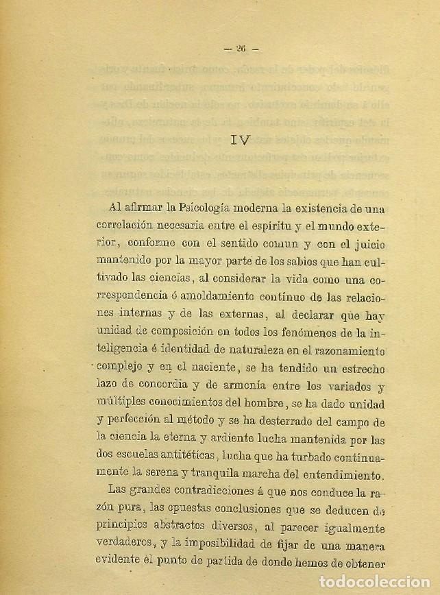 Libros de segunda mano: Discurso Universidad Central inauguración curso 1882 á 1883. Fausto Garagarza y Dugiols (Farmacia) - Foto 17 - 257732295