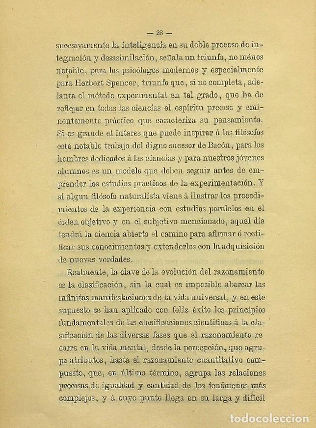 Libros de segunda mano: Discurso Universidad Central inauguración curso 1882 á 1883. Fausto Garagarza y Dugiols (Farmacia) - Foto 19 - 257732295