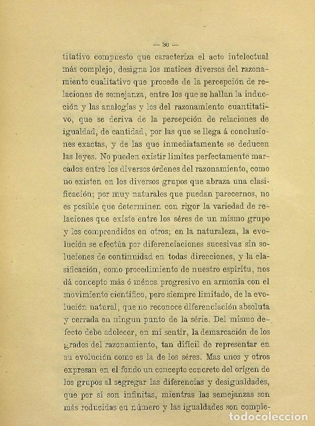 Libros de segunda mano: Discurso Universidad Central inauguración curso 1882 á 1883. Fausto Garagarza y Dugiols (Farmacia) - Foto 21 - 257732295