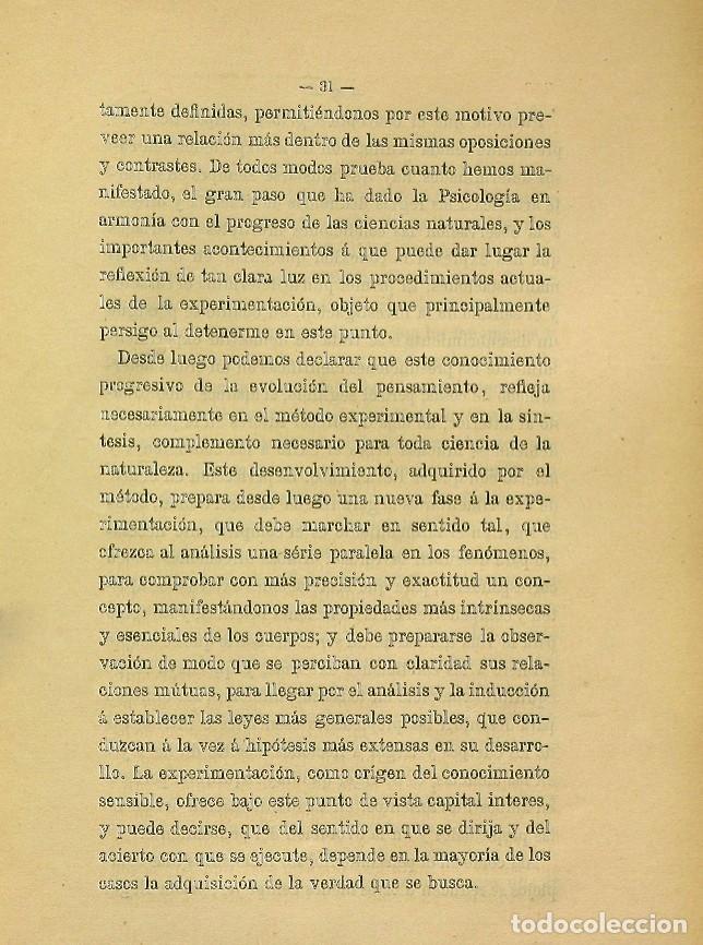 Libros de segunda mano: Discurso Universidad Central inauguración curso 1882 á 1883. Fausto Garagarza y Dugiols (Farmacia) - Foto 22 - 257732295