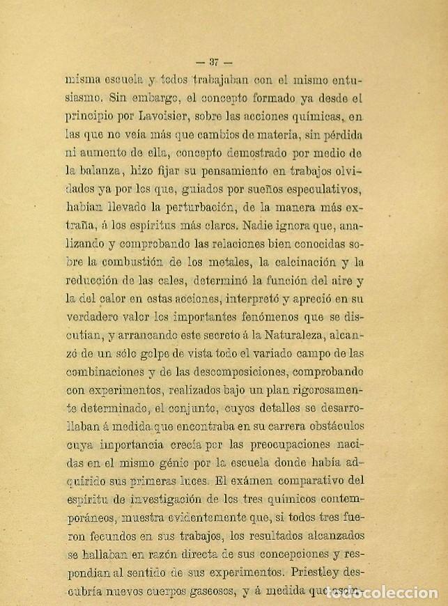 Libros de segunda mano: Discurso Universidad Central inauguración curso 1882 á 1883. Fausto Garagarza y Dugiols (Farmacia) - Foto 28 - 257732295