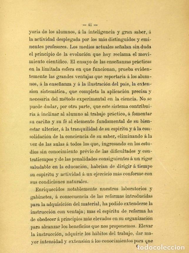 Libros de segunda mano: Discurso Universidad Central inauguración curso 1882 á 1883. Fausto Garagarza y Dugiols (Farmacia) - Foto 32 - 257732295