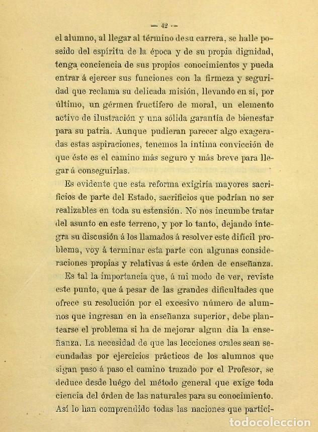 Libros de segunda mano: Discurso Universidad Central inauguración curso 1882 á 1883. Fausto Garagarza y Dugiols (Farmacia) - Foto 33 - 257732295