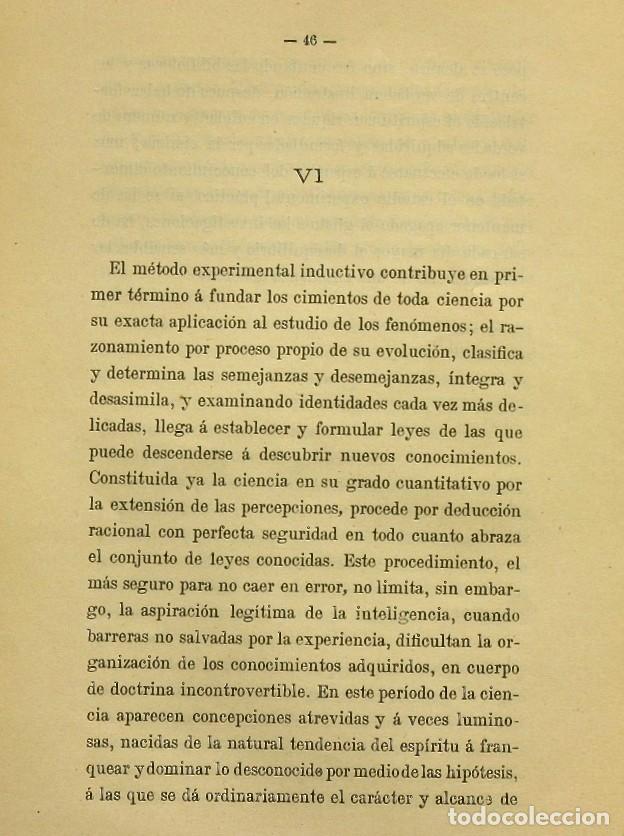 Libros de segunda mano: Discurso Universidad Central inauguración curso 1882 á 1883. Fausto Garagarza y Dugiols (Farmacia) - Foto 37 - 257732295