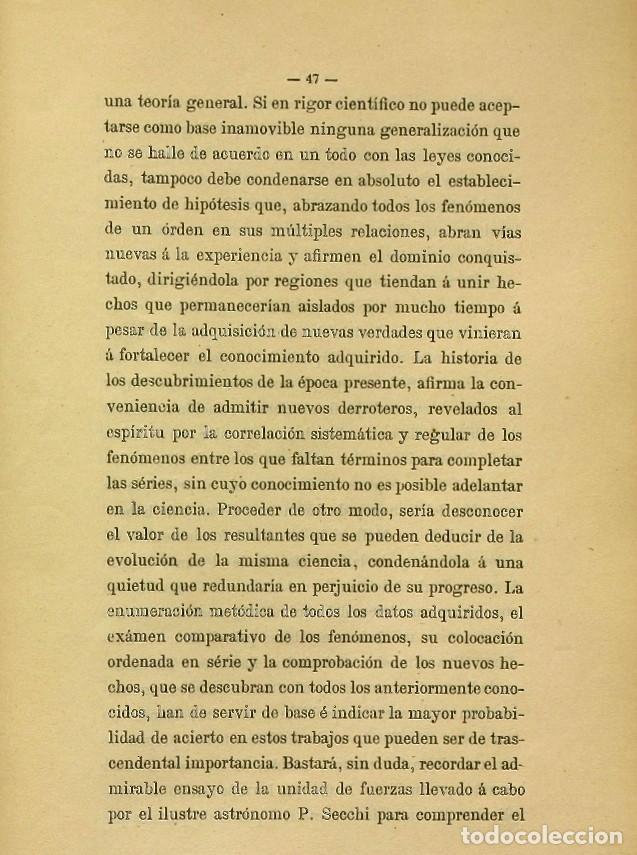 Libros de segunda mano: Discurso Universidad Central inauguración curso 1882 á 1883. Fausto Garagarza y Dugiols (Farmacia) - Foto 38 - 257732295