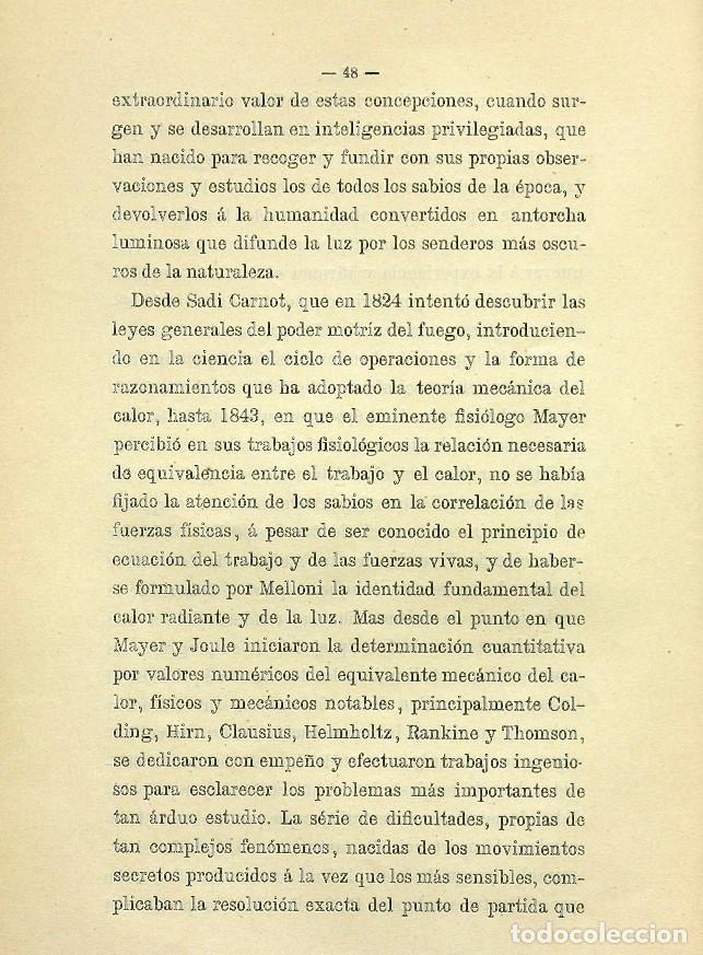 Libros de segunda mano: Discurso Universidad Central inauguración curso 1882 á 1883. Fausto Garagarza y Dugiols (Farmacia) - Foto 39 - 257732295