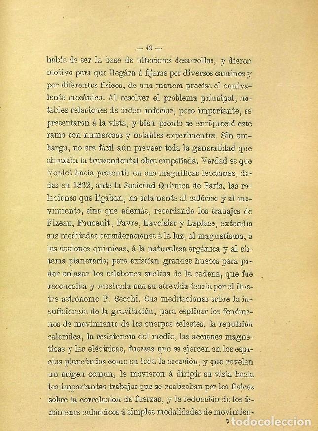 Libros de segunda mano: Discurso Universidad Central inauguración curso 1882 á 1883. Fausto Garagarza y Dugiols (Farmacia) - Foto 40 - 257732295