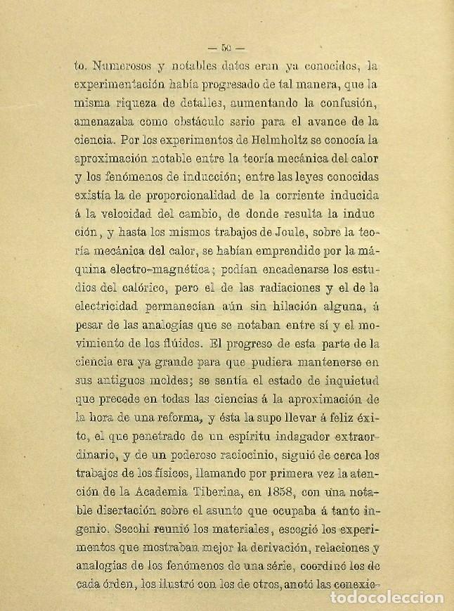 Libros de segunda mano: Discurso Universidad Central inauguración curso 1882 á 1883. Fausto Garagarza y Dugiols (Farmacia) - Foto 41 - 257732295