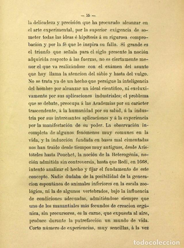 Libros de segunda mano: Discurso Universidad Central inauguración curso 1882 á 1883. Fausto Garagarza y Dugiols (Farmacia) - Foto 46 - 257732295