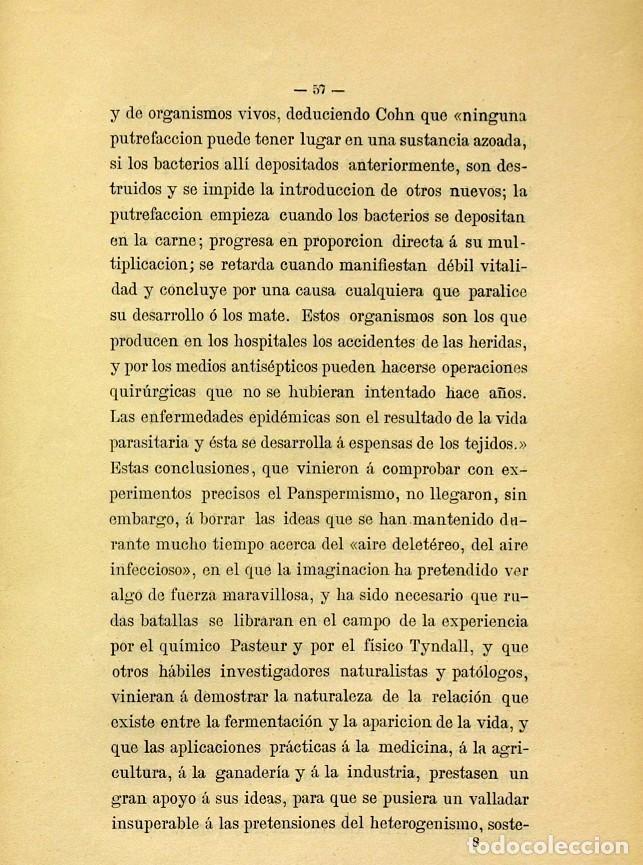 Libros de segunda mano: Discurso Universidad Central inauguración curso 1882 á 1883. Fausto Garagarza y Dugiols (Farmacia) - Foto 48 - 257732295
