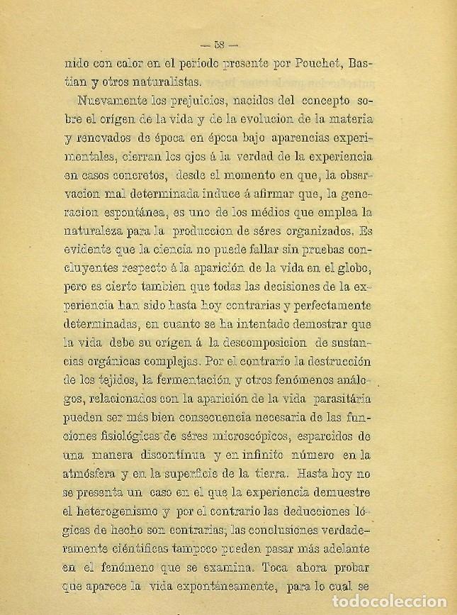 Libros de segunda mano: Discurso Universidad Central inauguración curso 1882 á 1883. Fausto Garagarza y Dugiols (Farmacia) - Foto 49 - 257732295