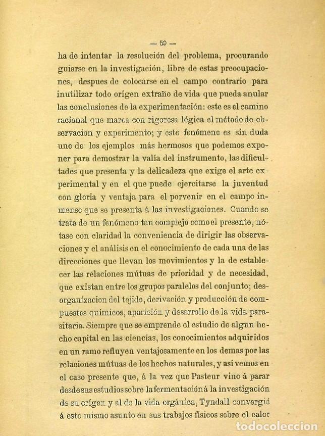 Libros de segunda mano: Discurso Universidad Central inauguración curso 1882 á 1883. Fausto Garagarza y Dugiols (Farmacia) - Foto 50 - 257732295