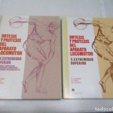 Libros de segunda mano: VILADOT, COHI, CLAVEL ORTESIS Y PRÓTESIS DEL APARATO LOCOMOTOR (2 TOMOS) W6874. Lote 260015430